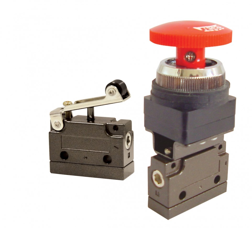 Válvulas de Acionamento Manual / Mecânico - MV15